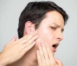 Boy is suffering from Gum Disease